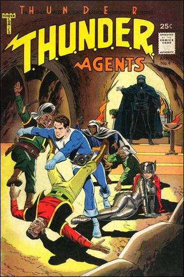 T.H.U.N.D.E.R. Agents (1966) 4-A by Tower