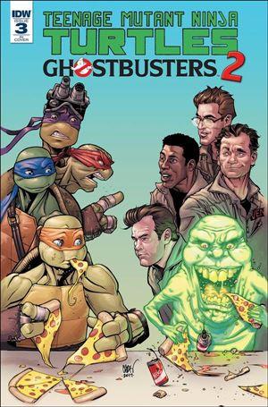 Teenage Mutant Ninja Turtles / Ghostbusters 2 3-C