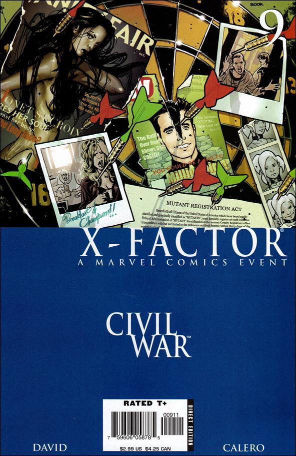 X-Factor (2006) 9-A by Marvel