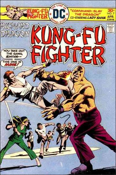 Richard Dragon, Kung-Fu Fighter 7-A by DC