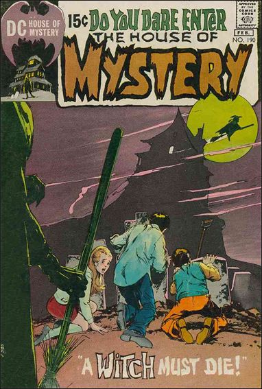 House of Mystery (1951) 190-A by DC