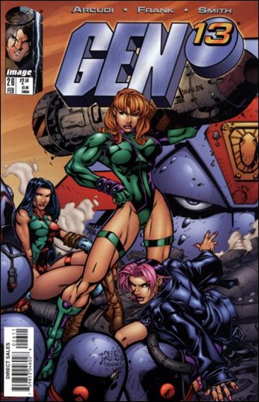 Gen13 (1995) 26-B by WildStorm
