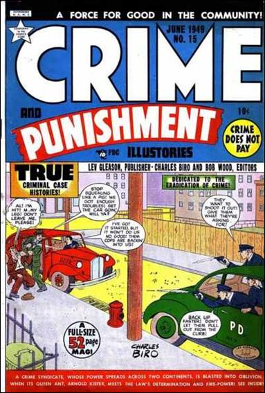 Crime and Punishment 15-A by Lev Gleason Productions