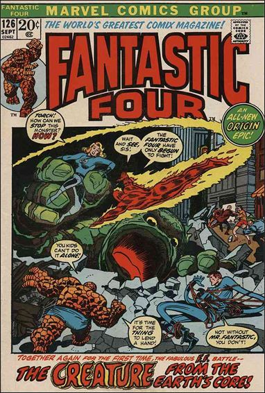 Fantastic Four (1961) 126-A by Marvel