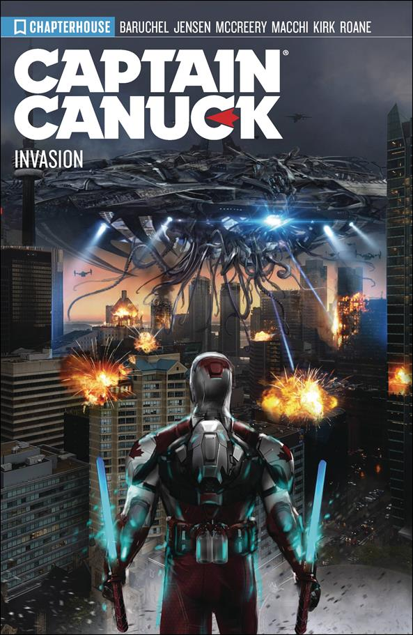 Captain Canuck 4-A by Chapterhouse Comics