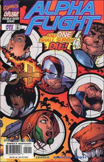 Alpha Flight (1997) 12-A by Marvel