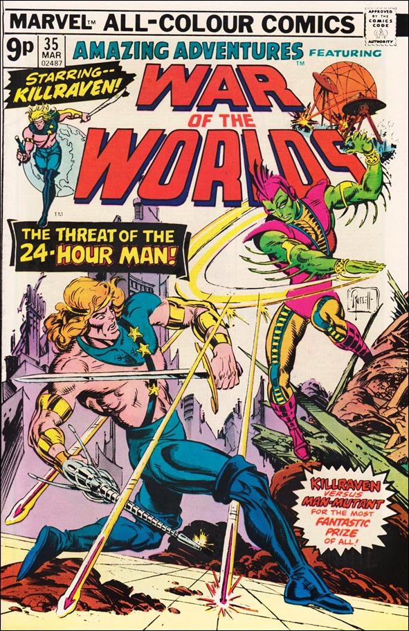 Amazing Adventures (1970) 35-B by Marvel