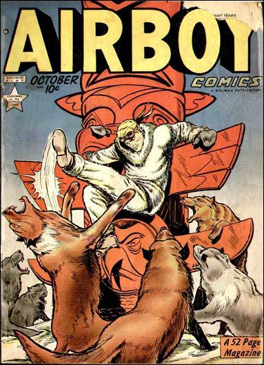 Airboy Comics (1949) 9-A by Hillman