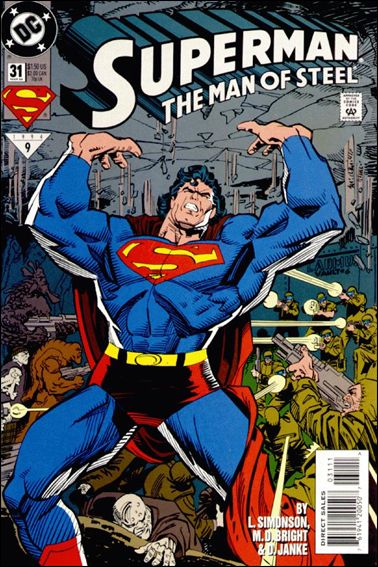 Superman: The Man of Steel 31-A by DC