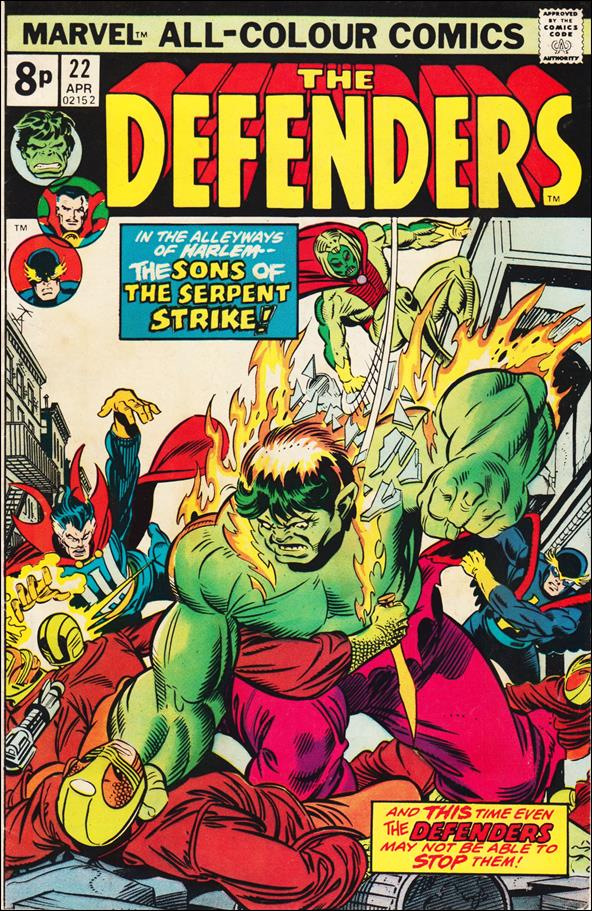 Defenders (1972) 22-B by Marvel