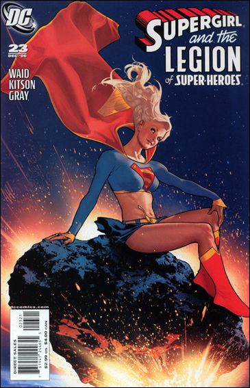 Supergirl and the Legion of Super-Heroes 23-B by DC