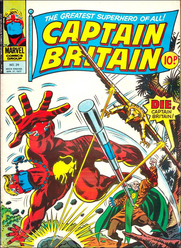 Captain Britain (UK) (1976) 29-A by Marvel UK