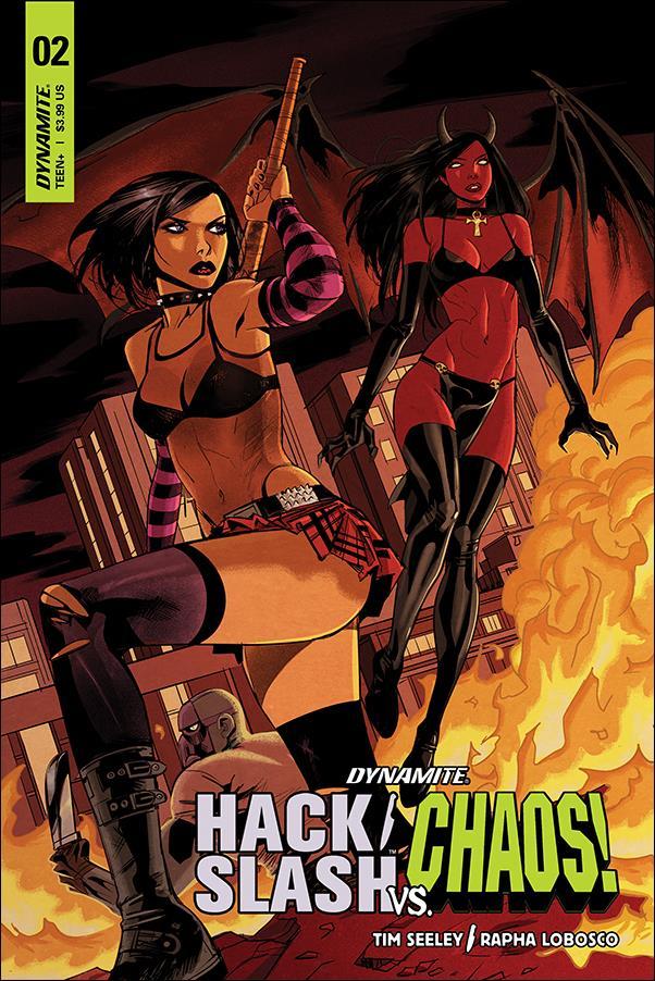 Hack/Slash vs Chaos 2-C by Dynamite Entertainment
