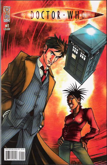Doctor Who (2008) 1-A by IDW