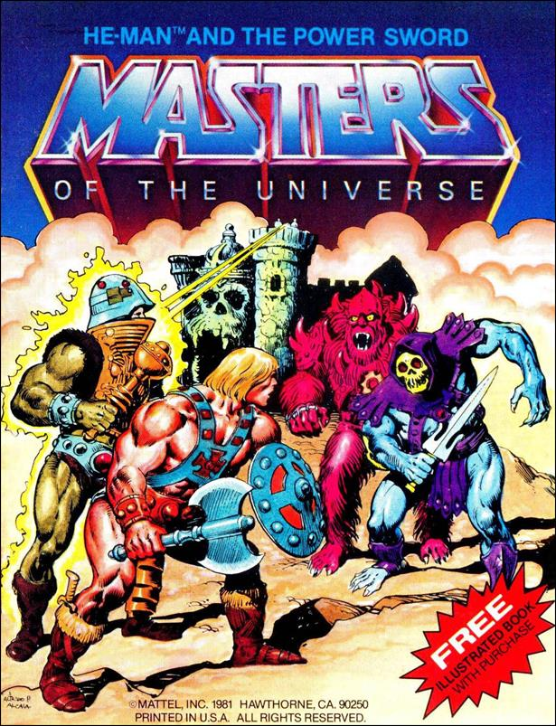 Masters of the Universe (1981) 1.1-A by Mattel