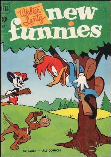 Walter Lantz New Funnies 171-A by Dell