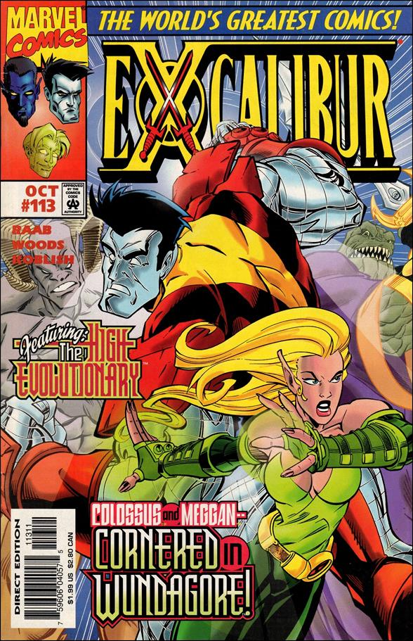 Excalibur (1988) 113-A by Marvel