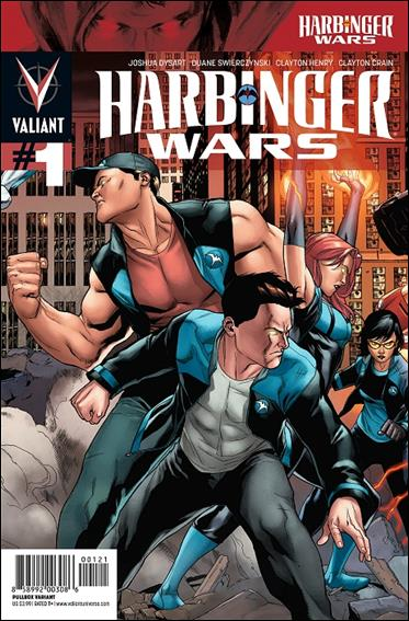 Harbinger Wars 1-B by Valiant Entertainment