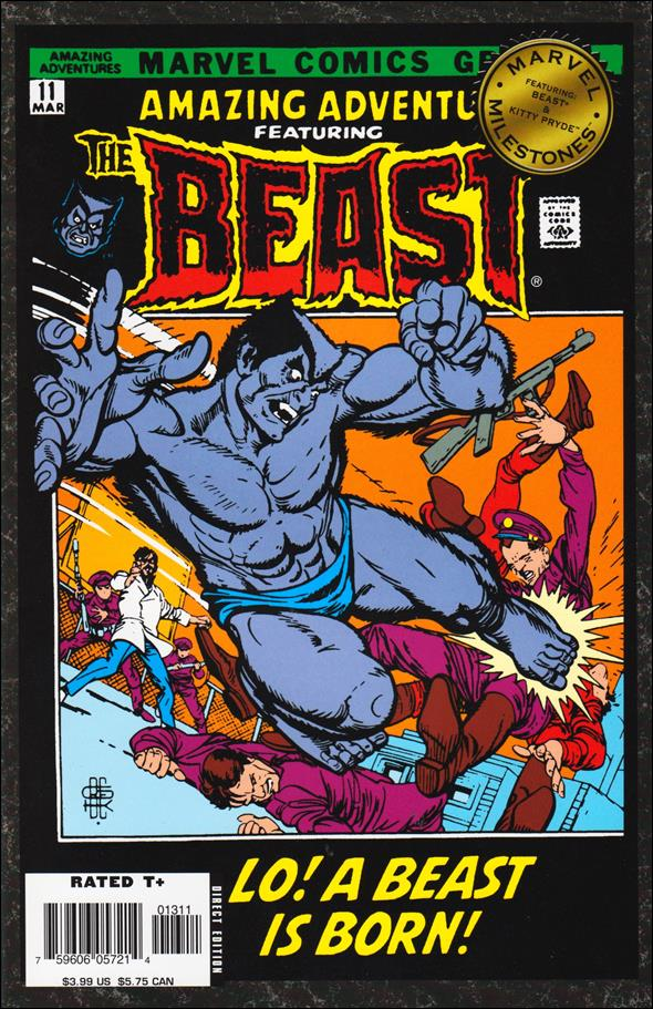 Marvel Milestones: Beast & Kitty Pryde nn-A by Marvel
