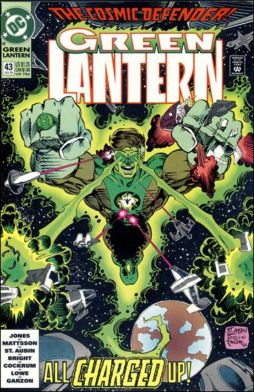 Green Lantern (1990) 43-A by DC