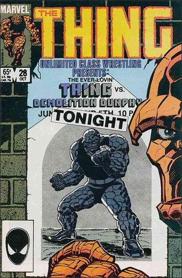 Thing (1983) 28-A by Marvel
