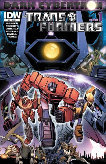 Transformers: Dark Cybertron 1-A by IDW