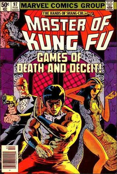 Master of Kung Fu 97-A by Marvel