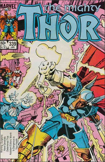 Thor (1966) 339-A by Marvel