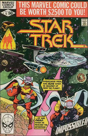 Star Trek (1980) 6-A by Marvel