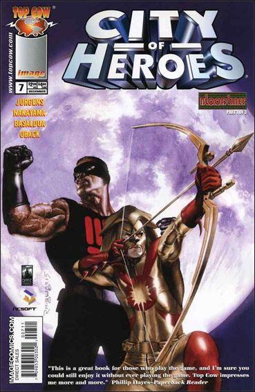 City of Heroes (2005) 7-A by Top Cow