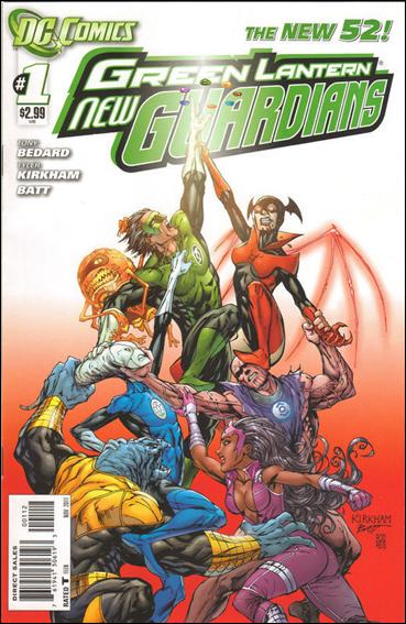 Green Lantern: New Guardians  1-B by DC