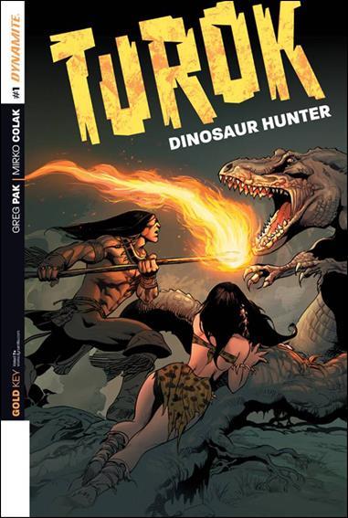Turok: Dinosaur Hunter (2014) 1-ZK by Dynamite Entertainment