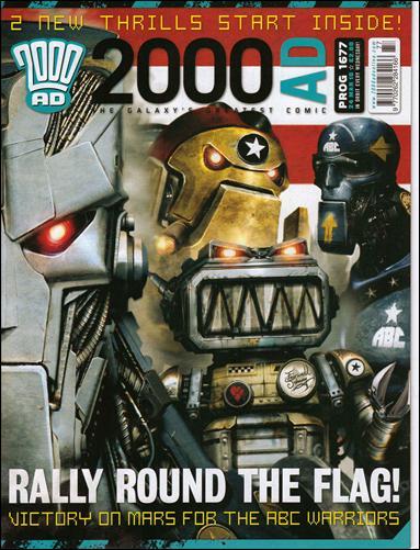 2000 A.D. (UK) 1677-A by Rebellion