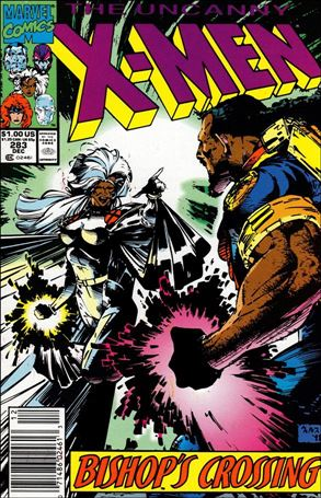 Uncanny X-Men (1981) 283-A