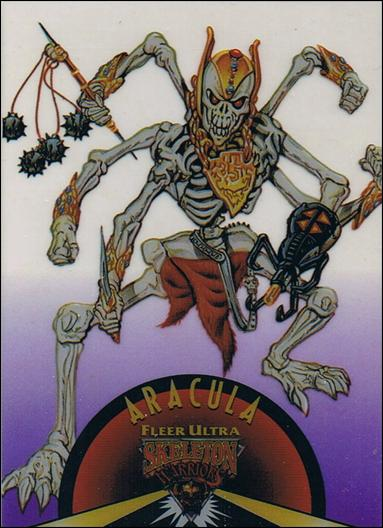 Fleer Ultra Skeleton Warriors (Suspended Animation Subset) 7-A by Fleer