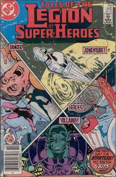 Tales of the Legion of Super-Heroes 316-A by DC