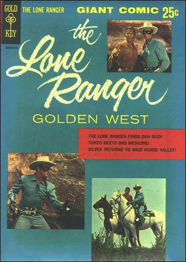 Lone Ranger Golden West (1966) 1-A by Gold Key