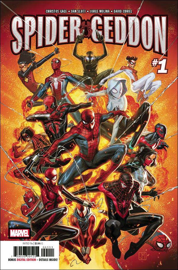 Spider-Geddon 1-A by Marvel
