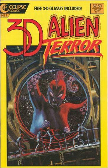 3-D Alien Terror 1-A by Eclipse