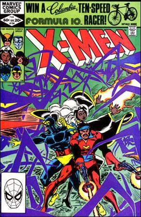 Uncanny X-Men (1981) 154-A by Marvel