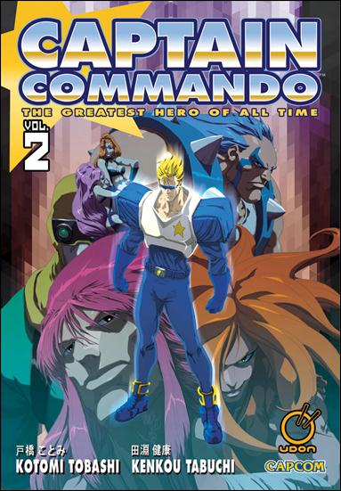 Captain Commando 2-A by Udon