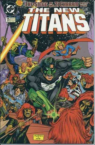 New Titans 125-A by DC