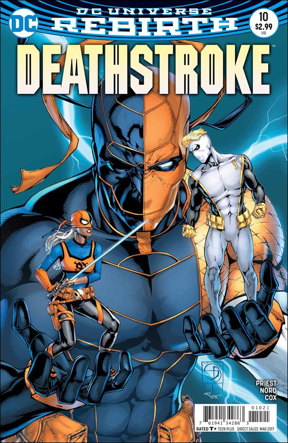 Deathstroke (2016) 10-B by DC