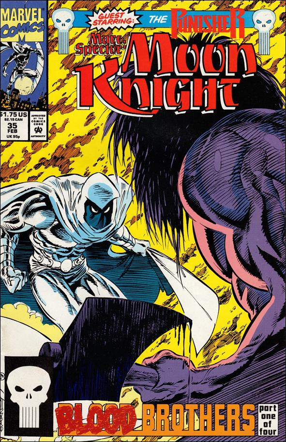Marc Spector: Moon Knight 35-A by Marvel