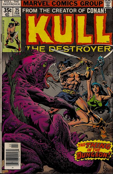 Kull the Destroyer 25-A by Marvel
