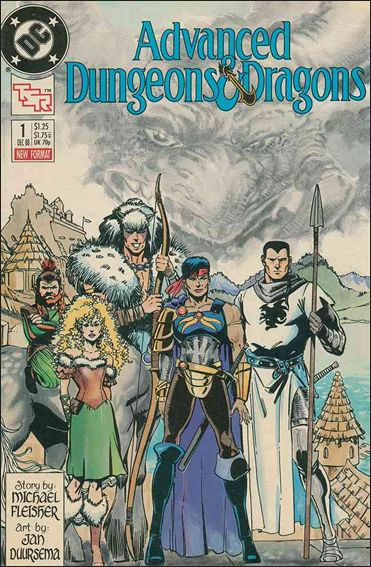 Advanced Dungeons & Dragons 1-A by DC
