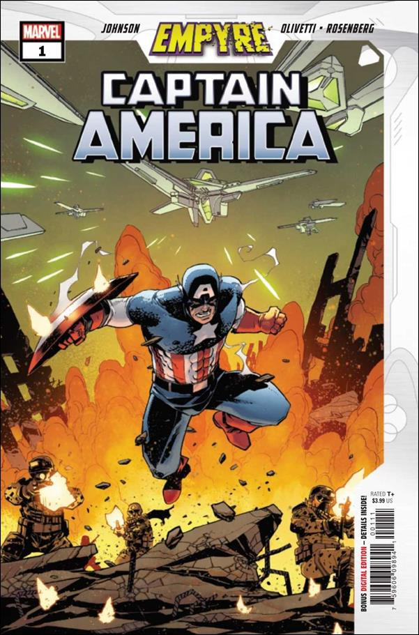 Empyre: Captain America 1-A by Marvel