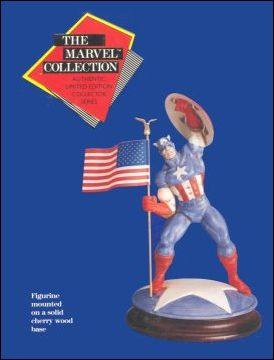 Marvel Collection Captain America 1/7500 by Marvel