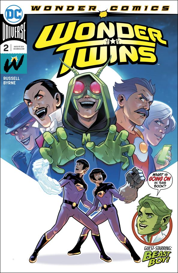 Wonder Twins 2-A by Wonder Comics