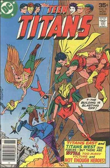 Teen Titans (1966) 51-A by DC